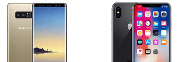 Samsung Galaxy Note 8 sau iPhone X?